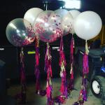 Confetti and Feather Balloons