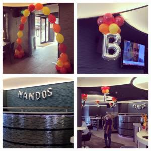 Qlink arch and nandos letters