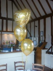 50th Anniversary Balloon Bouquet